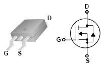 FQD2N100, 1000V N-Channel MOSFET